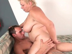 Fat older lady rocks on his cock with tight cunt movies at find-best-lingerie.com