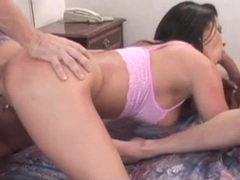 Slut eager to be spit roasted on hotel bed movies at kilopills.com