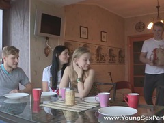 Young sex parties - teens fuck in pairs and more videos