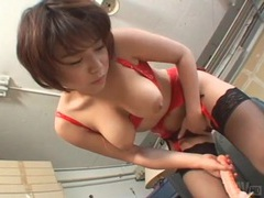 Sexy lingerie on toy riding japanese girl movies at sgirls.net