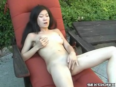 Cute naked asian masturbates outdoors movies at sgirls.net