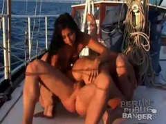 Sunset cruise with sluts that fuck on a boat videos