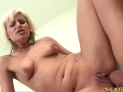 Limber blonde with tramp stamp ass fucked tubes