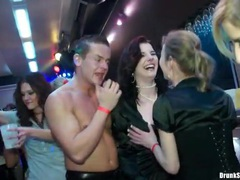 Sexy club girls get fondled at a night club videos