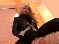 Chick rubs her leather clad ass on his cock movies at find-best-hardcore.com