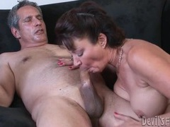 Milf with hot hairy hole fucked by her man videos