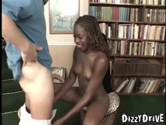 Skinny black girl interracial screw and facial videos