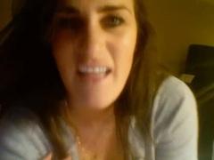 Gf pranks her man in webcam video videos