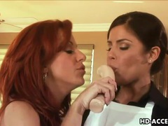 Redhead milf wants young lesbian tongue on her cunt videos