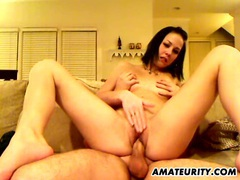 Naughty amateur girlfriend sucks and fucks videos