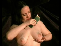 Solo bdsm girl drips wax on her titties movies at find-best-mature.com