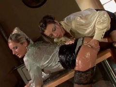 Sticky wet ladies in blouses finger pussy movies at sgirls.net