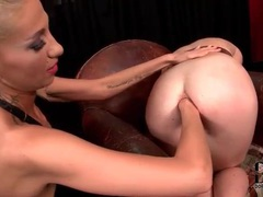 Fingering and fisting wet ass of bound girl videos