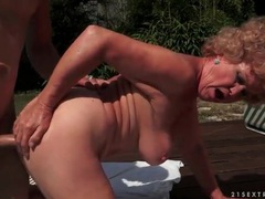 Old lady hardcore fuck outdoors with moans movies at find-best-lesbians.com