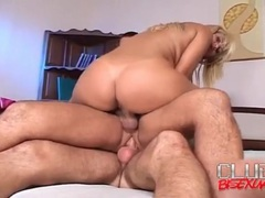 Doggystyle butt fucking and sucking in threesome movies at sgirls.net