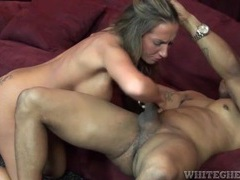 Slut blows big black cock and bends over movies at find-best-ass.com