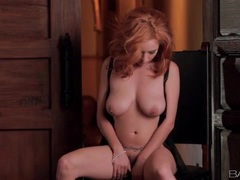 Lingerie masturbation with a sexy redhead movies at sgirls.net