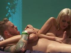 Curvy blonde milf pornstar fucked in the vagina videos