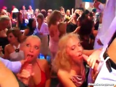 Horny girls convinced to suck cock at party movies at freekilomovies.com
