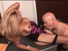 Sucking cock in office with beautiful blonde shemale videos