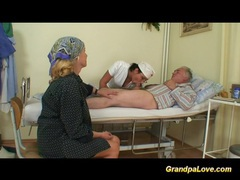 Grandpa babe fucking the nurse videos