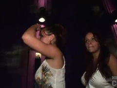 Dancing and upskirts with party girls videos