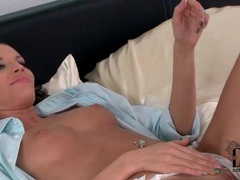 Beautiful looking girl gives sensual blowjob videos