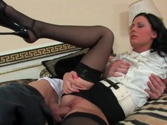 Satin blouse and short skirt on a fucked girl movies at find-best-mature.com
