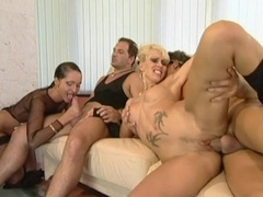 All holes fucking in a lusty lady foursome video videos