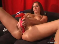 Red dildos for a sexy double penetration movies at find-best-mature.com