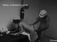 They take a work break for some voyeur sex videos