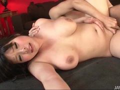 Curvy japanese gal bounces on his hard cock videos