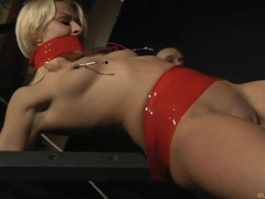 Stunning blonde spanked and whipped movies at sgirls.net