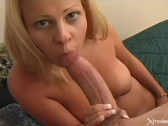 Perky tits blonde fucked in her shaved vagina movies at freekiloporn.com