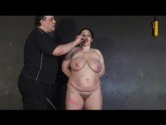 He marks up her fat body and uses her as ashtray movies at sgirls.net