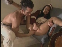 Horny bellhop eaten out and sucking a big cock videos