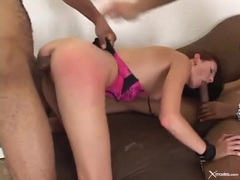 Hailey young laid by two big black cocks videos