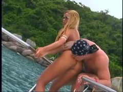 Fooling around with sexy latina in a bikini movies at adipics.com