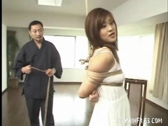 Increasing the rope bondage of the japanese chick videos