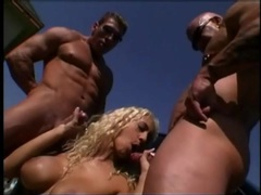 Big boobs blonde bimbo slut fucked outdoors videos