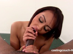 Castingcouch-hd black whore casting movies at lingerie-mania.com
