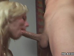 Blonde pornstar gets face full of deepthroat spunk movies at kilogirls.com