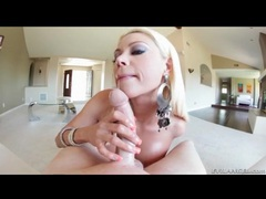 Bleach blonde milf gives him a hot titjob movies at find-best-videos.com
