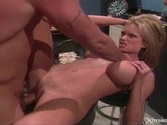 Big cock fucks busty blonde slut briana banks movies at freekilomovies.com