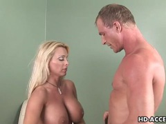 Horny milf gets pussy stretched by big cock movies at freekiloclips.com