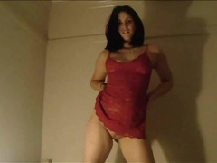 Curvy girl in red lace fucked in her tight box movies at find-best-babes.com