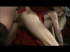 Thick dick invades the pussy of the tattooed blonde movies at find-best-videos.com