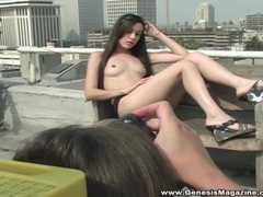 Sasha grey poses for porn pictures outdoors videos