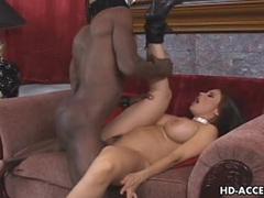 Mature milf takes on big black cock videos