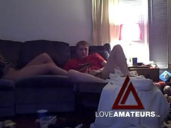Banging a chunky chick on his couch movies at find-best-ass.com
